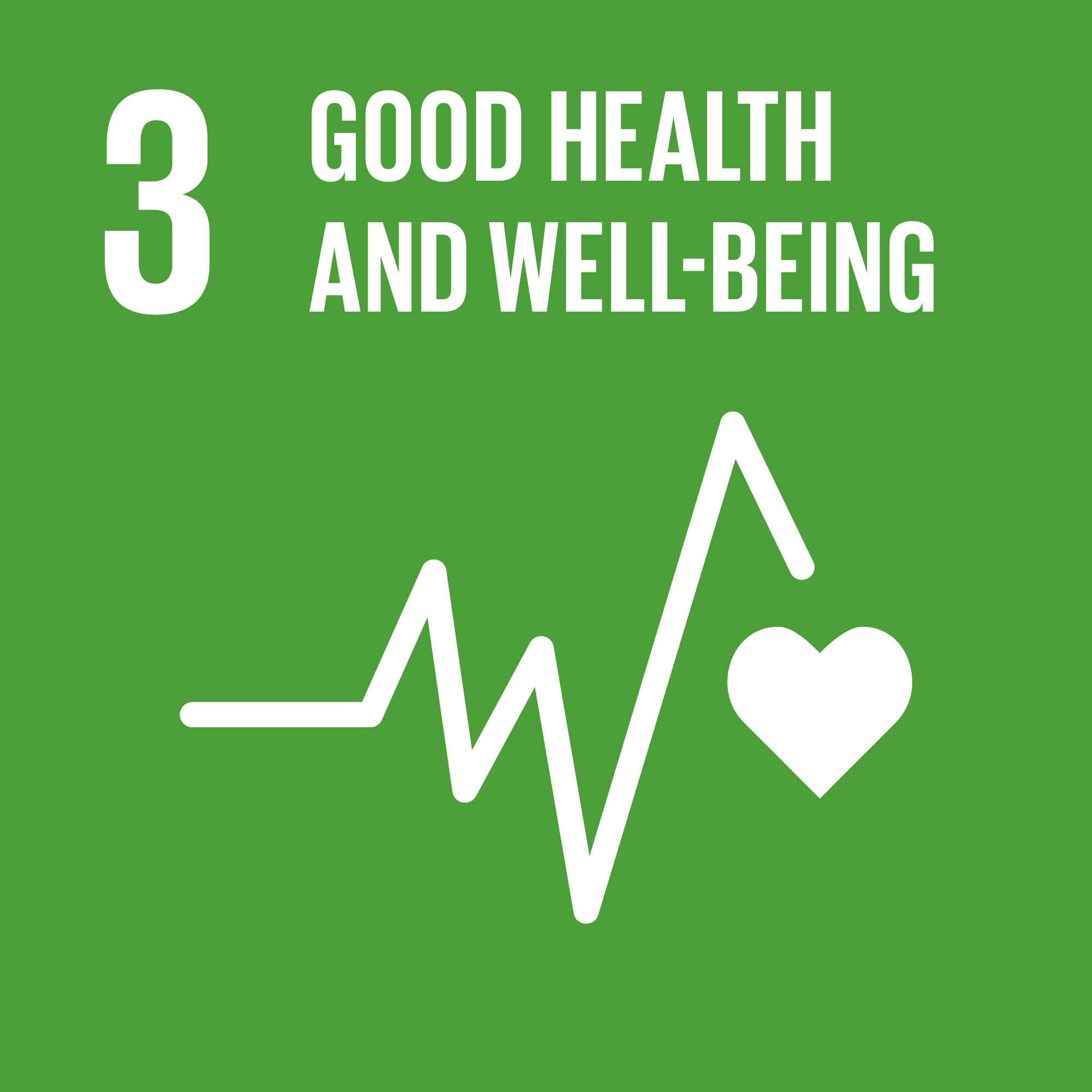 Agenda 2030 goal number 3 Good health and well-being