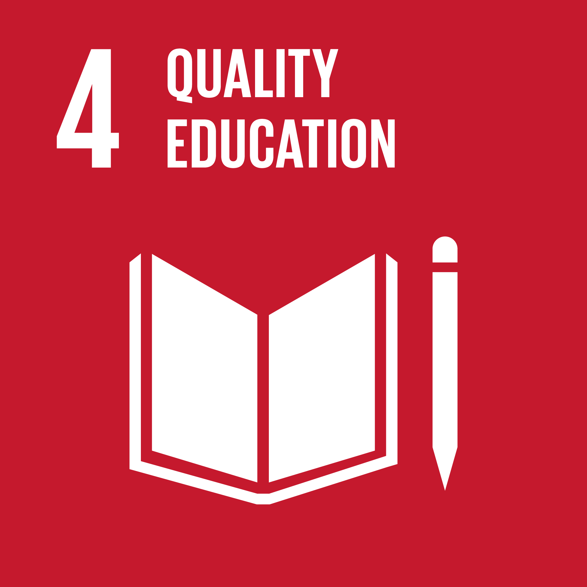 Agenda 2030 goal number 4: Quality education