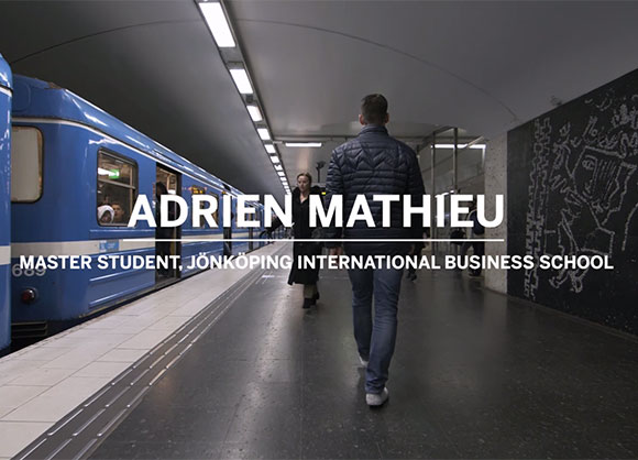 Picture of adrien in the subway